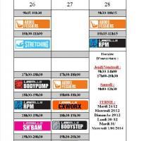 Planning Noel / Nouvel An 2013