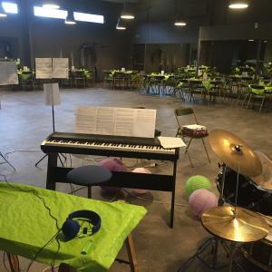 Soirée orchestre familiale salle Erable