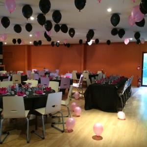 Soirée Pink & Black au Chateau d'Hem.